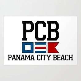 Panama City - Florida. Art Print