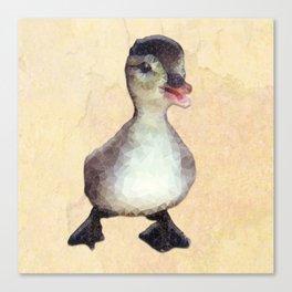 Mosaic Ducking Canvas Print