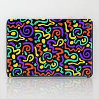 90s iPad Cases featuring 90s Swirls by Three Pea