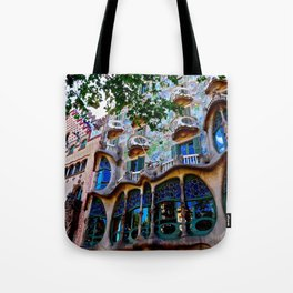 Casa Batllo: Barcelona, Spain Tote Bag