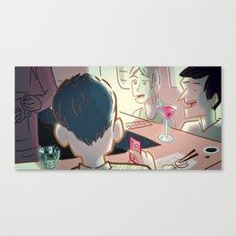 Sushi Serendipity Canvas Print