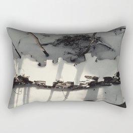 All That's Left Rectangular Pillow