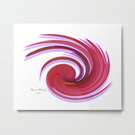The whirl of life, W1.2A Metal Print