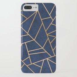 Art Deco Blue iPhone Case
