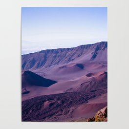 Haleakalā Sunrise On The Summit Maui Hawaii Kalahaku Poster