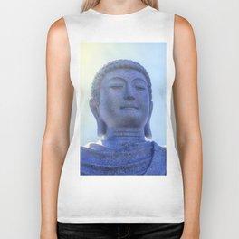 Meditating Buddha Biker Tank