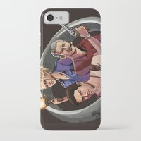 uncharted iPhone & iPod Cases featuring Dreamers of the Day by Sketchy-Nic