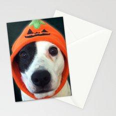 Pumpkin Dog Stationery Cards