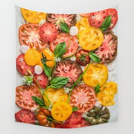 Heirloom Tomatoes Wall Tapestry