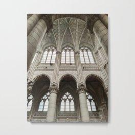 Église Saint-Similien, Nantes, France Metal Print