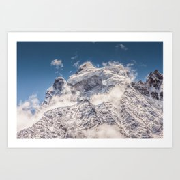 Snowpack Art Print