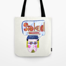 STOKED!!! Tote Bag