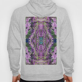 302 - Abstract Lilac Design Hoody