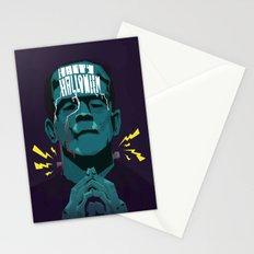 Halloween '13 Frankie Stationery Cards