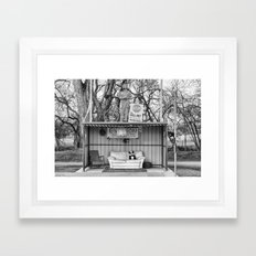 Everton Bus Shelter Framed Art Print