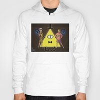 gravity falls Hoodies featuring Gravity Falls by Dee Draws