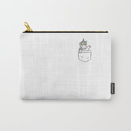 Funny Unicorn Clothing Gift Unicorn Kids Carry-All Pouch
