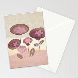 Flowers en Rose Stationery Cards