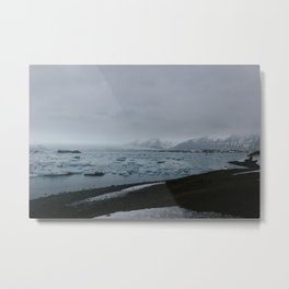 Ice Lagoon Metal Print