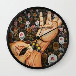 Art Activism Wall Clock