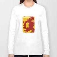 soviet Long Sleeve T-shirts featuring Mayakovsky, Soviet Poet by Adam Metzner