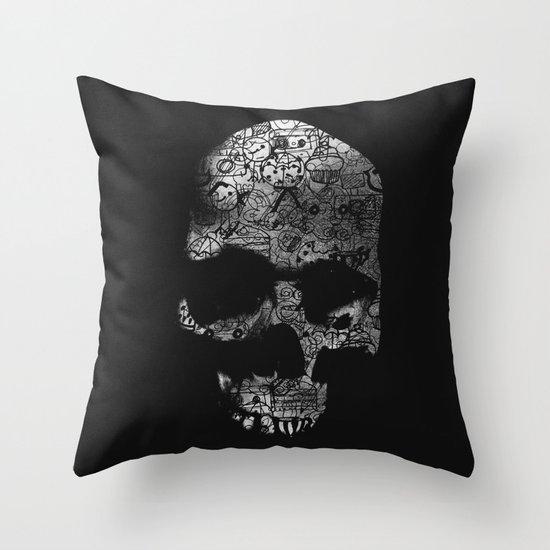 Endless Doodle Throw Pillow