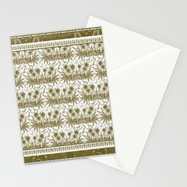 Singing Bird Collection - Sand Scarf design Stationery Cards