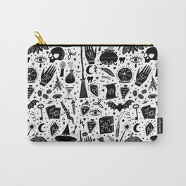 Wizard and Witch Pattern | Magic Sorcery Conjuring Carry-All Pouch