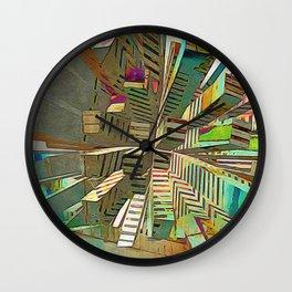 cat tree, jamboree Wall Clock