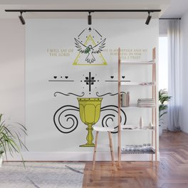 - Psalm 91:2 Wall Mural