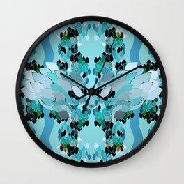 Discreet Guardian Wall Clock
