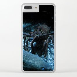 Lobster and the Eels Clear iPhone Case