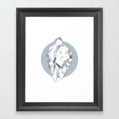 Hyper Nation Framed Art Print