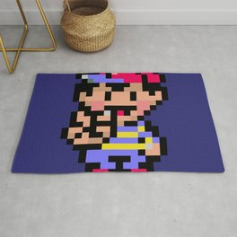 Earthbound Ness Rug