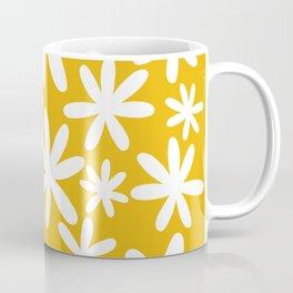 Tiare Flower Yellow Coffee Mug
