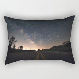 Milky Way, Luddington, Micghian Rectangular Pillow