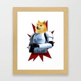 Imperial Dogetrooper Framed Art Print