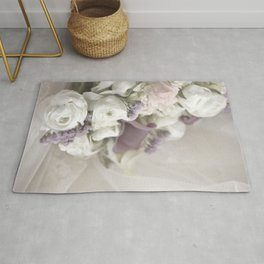 Soft Bouquet Of Flowers Rug