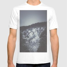 When i look at you White MEDIUM Mens Fitted Tee