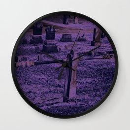 Violet Wall Clock