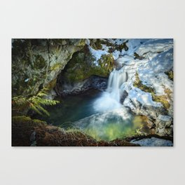 Paradise Falls 1 Canvas Print
