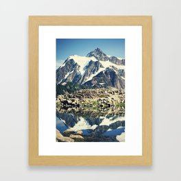 Mt. Shucksan Framed Art Print