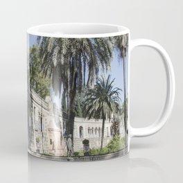Royal Gardens Reflection - Alcazar of Seville Coffee Mug