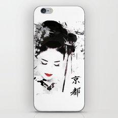 Kyoto Geisha iPhone & iPod Skin
