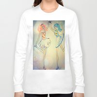 witch Long Sleeve T-shirts featuring witch by Elide G