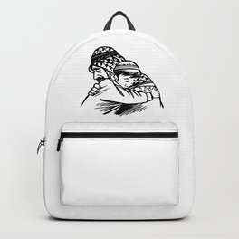 Islam Forgiveness Drawing Backpack
