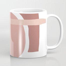 BLUSH PINK ABSTRACT Coffee Mug