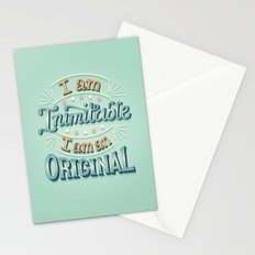 I am an original Stationery Cards