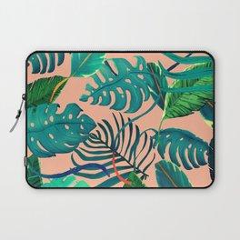 Summer Tropical Leaves Laptop Sleeve