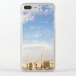 St. Peter's Square In Vatican Clear iPhone Case